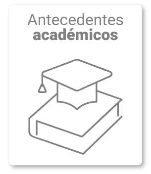 2. Describe sus antecedentes académicos