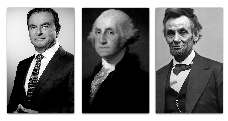 Carlos-Ghosn-George-Washington-y-Abraham-Lincoln-min