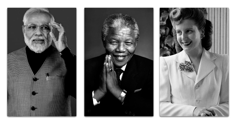 Narendra-Modi-Nelson-Mandela-y-Eva-Peron-min