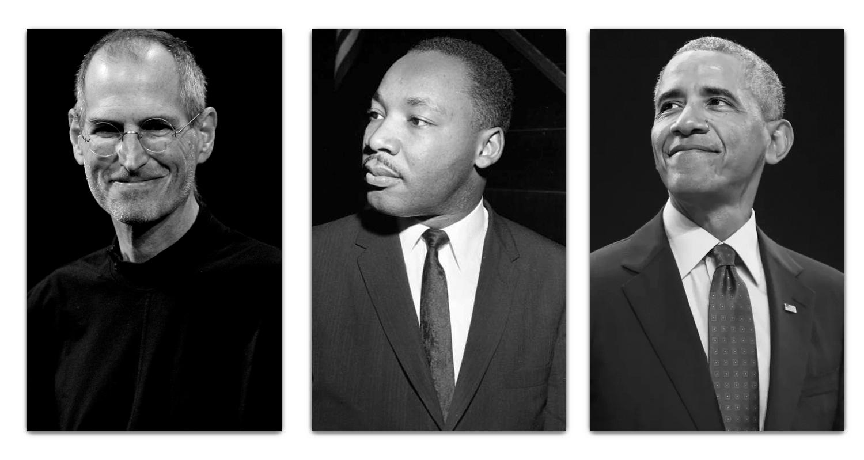 Steve-Jobs-Martin-Luther-King-Jr-y-Barack-Obama-min