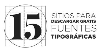 Fuentes gratis: Obtén tipografías en estos 15 sitios