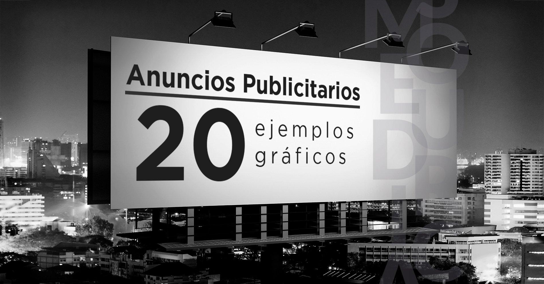 Anuncios Publicitarios_ 20 ejemplos gráficos