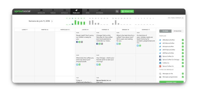 Crea tu calendario de contenido