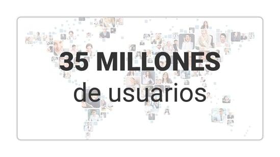 35 millones de miembros y se cerró en 2001