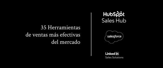 Las 34 herramientas de ventas más efectivas en el mercado