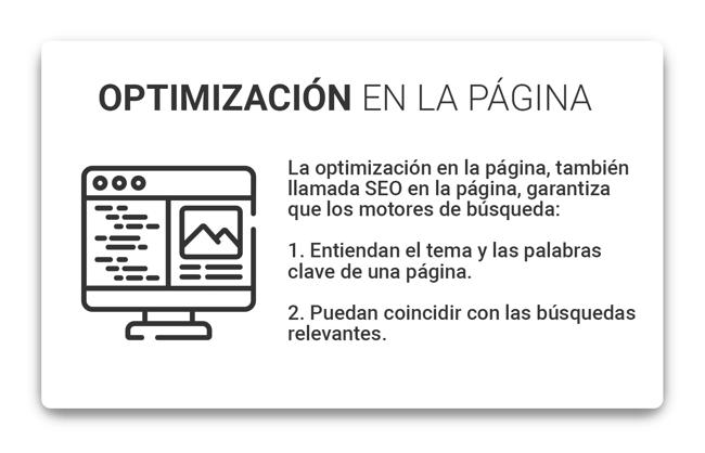 Optimización de la pagina web