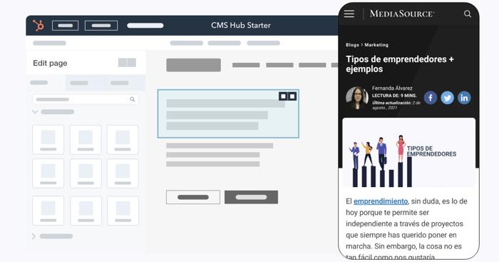 CMS Hub Starter: qué es y para qué sirve