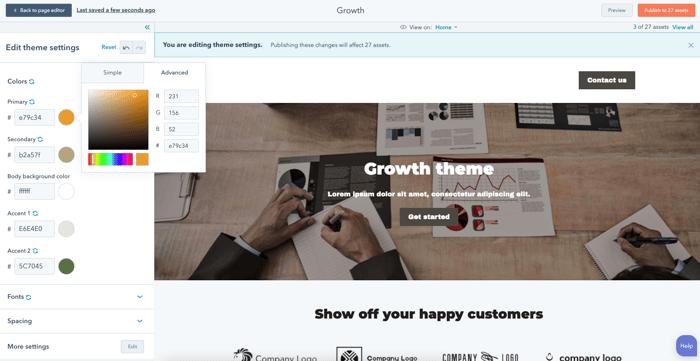 CMS Hub Starter: las mejores características
