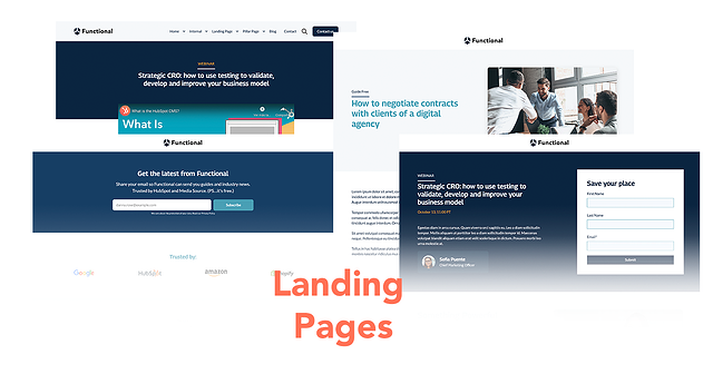 Las 5 mejores plantillas para Landing Page