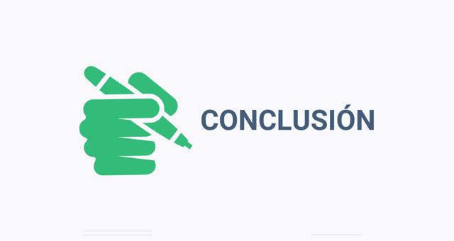 ¿Cómo hacer una conclusión?