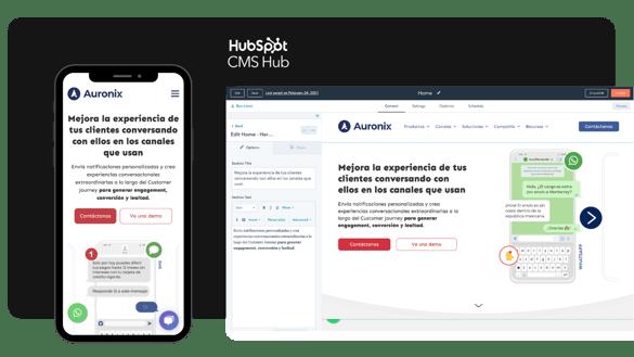 Sitio Web en HubSpot