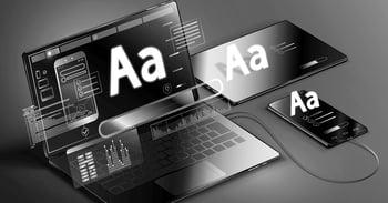 7 tipografías ideales para la industrias SaaS