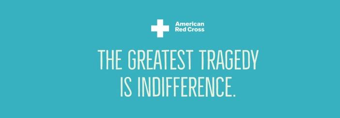 American red crossSlogan