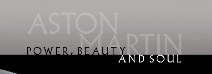 Aston MartinSlogan