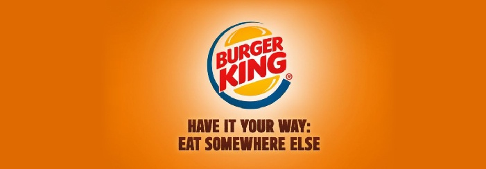 Burger KingSlogan