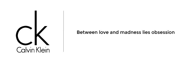 Calvin KleinSlogan