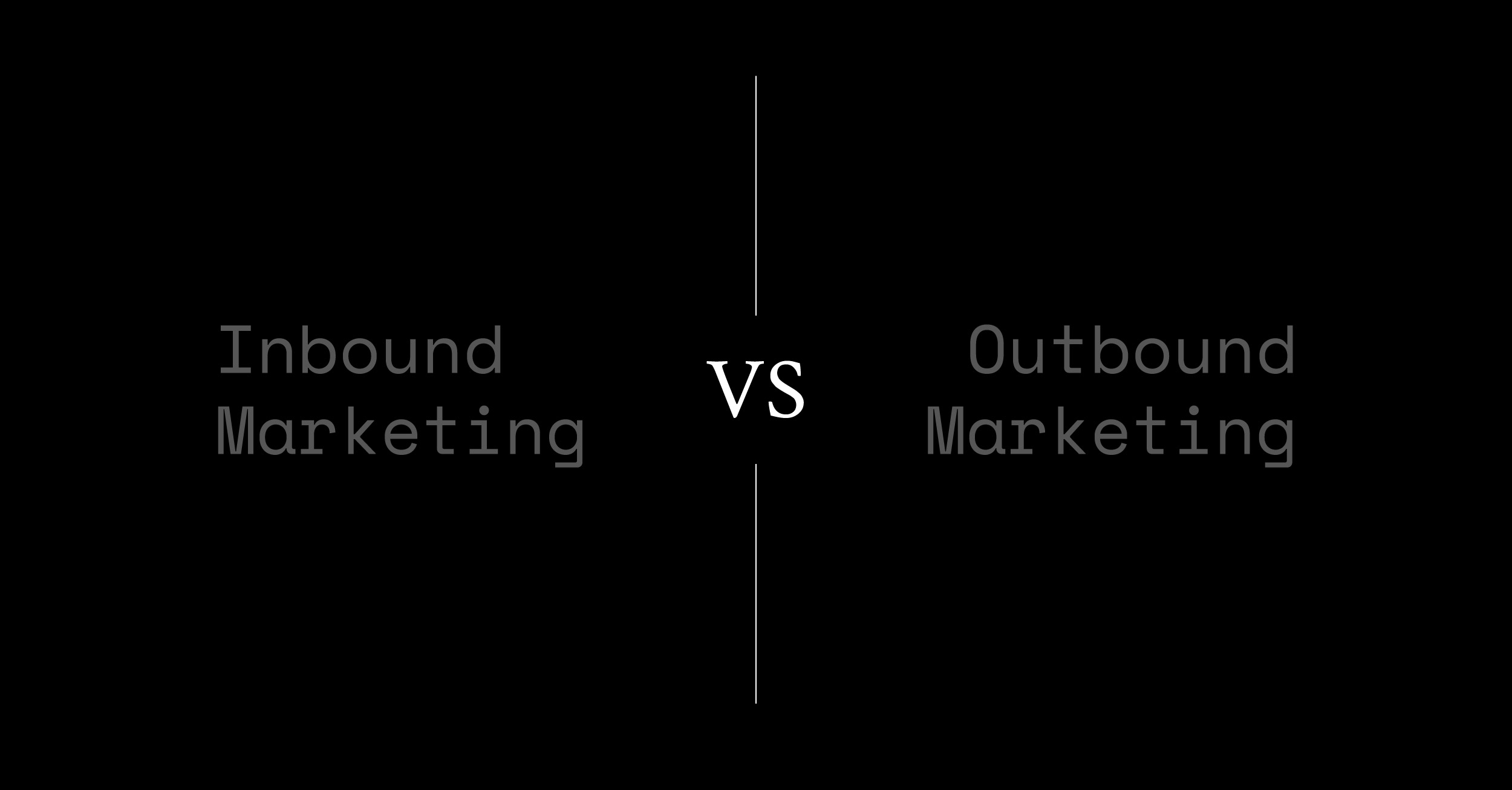 6 diferencias entre Inbound y Outbound marketing en Social Media