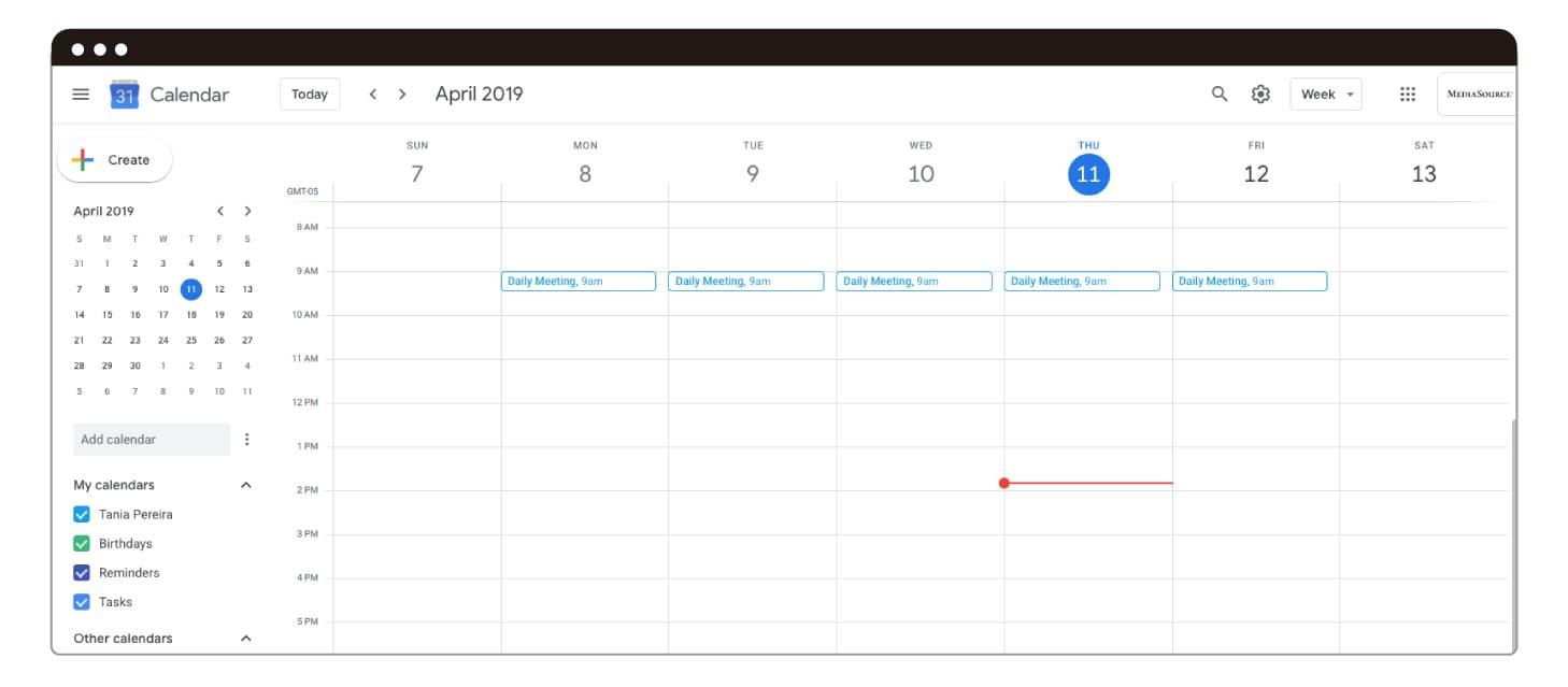 Guía Google Calendar