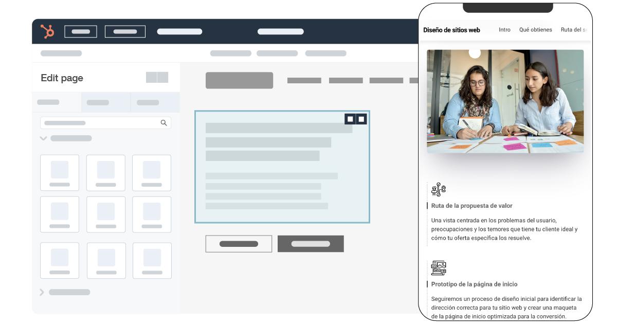Proceso de rediseño web con CMS Hub o WordPress