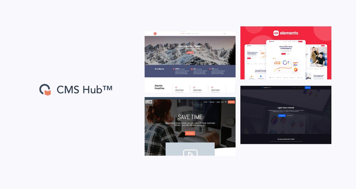 10 Temas para crear tu sitio web en CMS Hub